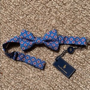 New Polo by Ralph Lauren silk Bow Tie